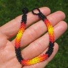 Huichol Bead Indian Bracelet Jewelry Art Hand Made Guadalajara Mexico A34