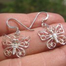 925 silverbutterfly earring earrings northern Thailand A8