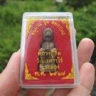 Metal Hanuman Monkey God Metal  Statue Figure Small Amulet A14 EJ46227