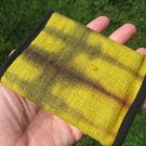 Hemp  tri fold Wallet tai dai hand made  from Thailand A6795