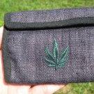 Natural Hemp Marijuana Leaf Wallet  A2756