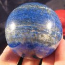 Lapis Lazul Lazuli Crystal Ball Mineral Art carving A551
