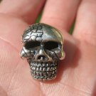 925 Silver Skull Pendant Necklace with 925 Silver chain A2476