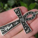 Himalayan Treasures 925 Silver Egyptian Ankh Cross Crux Ansata Pendant A502