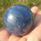 Afghanistan Deep Blue Lapis Lazul Lazuli Crystal stone rock ball mineral A14