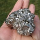 Natural Pyrite Stone Mineral Fools Gold Taxco Mexico A21