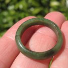 Natural Green Jadeite Jade Ring Thailand Jewelry Art Size 9.75 US A518