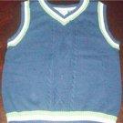 Sweater Vest V Neck Size 12 Months Steve & Barry Baby