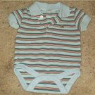 Baby Gap boys onesie collard button shirt Size 0-3month