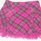 Girls Stylish pink skirt with built in shorts Size 4T