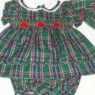 BT Kids Boutique Girls 3pc smocked dress Size 3-6Months