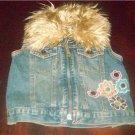 Childrens Place Denim/Jean Vest Size 18 Months