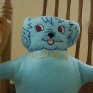 Blue Puppy Pillow Pal