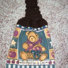 Teddy Bear Hanging Kitchen Towel
