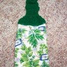 Herbs Hanging Kitchen Towel