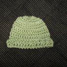 Light Green Crochet Infant Cap