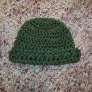 Sage Green Crochet Infant Cap