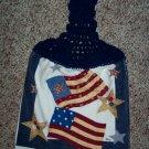 American Flag Hanging Kitchen Towel