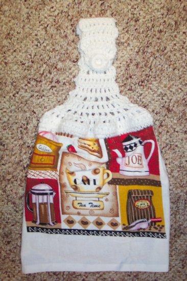 Coffee Hanging Kitchen Towel