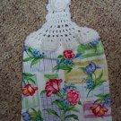 Floral Hanging Kitchen Towel