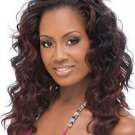 """20"""" long Lace Front wefted Back Wig Indian Remy Human Hair"""
