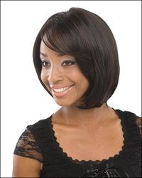 "10"" long full lace wig Remy human hair in stock"