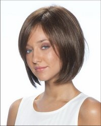 """12"""" long full lace wig Remy human hair in stock"""