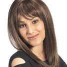 """18"""" long lace front wig Indian Remy human hair in stock"""