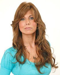 """22"""" long full lace wig Indian Remy human hair in stock"""