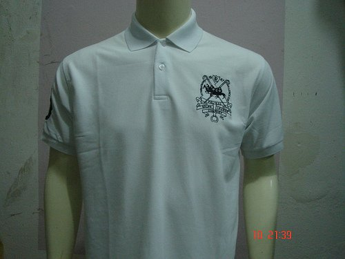 White Ralph Lauren Polo shirt with big pony-T41