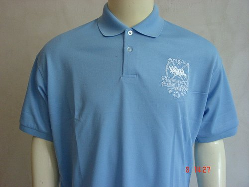 Blue Ralph Lauren Polo shirt with big pony-T40