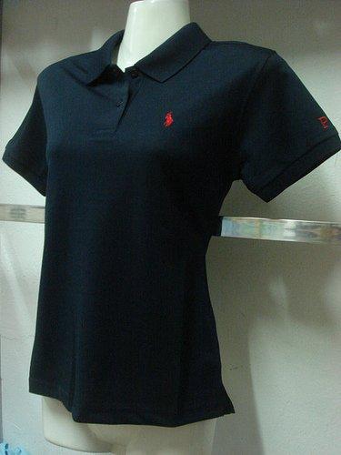 Womens Navy Blue Ralph Lauren Polo shirt -T25