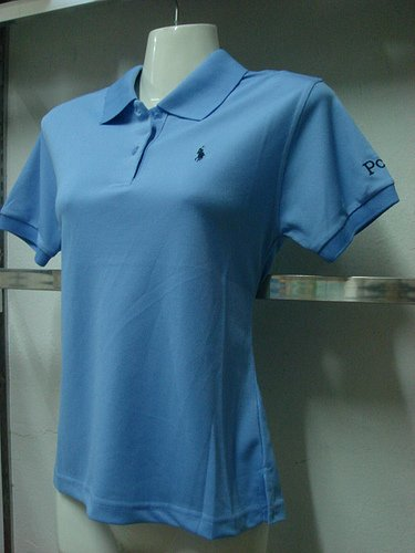 Womens Blue Ralph Lauren Polo shirt -T23