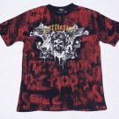 Mens Affliction Graphic T-Shirts- T84
