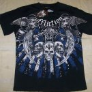 Mens Affliction Graphic T-Shirts- T108