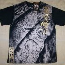 Mens Affliction Graphic T-Shirts- T111