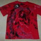 Mens Affliction Graphic T-Shirts- T114