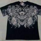 Mens Affliction Graphic T-Shirts- T128