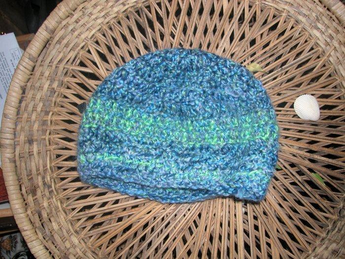 Double crochet midnight toboggan