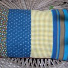infant patchwork pillow