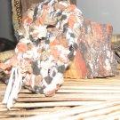 textured earthtone mini-tote
