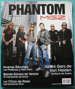 IRON MAIDEN SPANISH INTERVIEW PERU SPECIAL MAGAZINE TOUR 2009