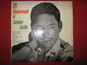 LP Homenaje a Javier Solis Rancheras