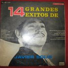 LP Javier Solis 14 exitos different cover Peru edition