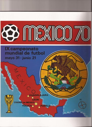 Rare Reprinted Album Mexico 70 Panini