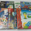 12 ORIGINAL REPRINT ALBUMS LICENSED PANINI WC 70 to 2014 Complete No Stickers