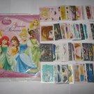 ORIGINAL Panini Disney Princess Glamour Stickers Album + Complete Set