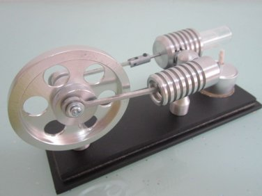 Stirling engine - Hot air stirlingmotor- ready to run , free shipping, stirling motor, fun toy