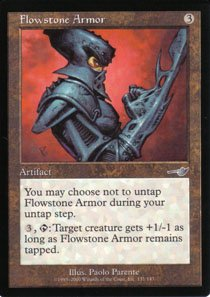 Magic the Gathering Nemesis Flowstone Armor NM/Mint
