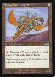 Magic the Gathering Nemesis Flowstone Thopter NM/Mint
